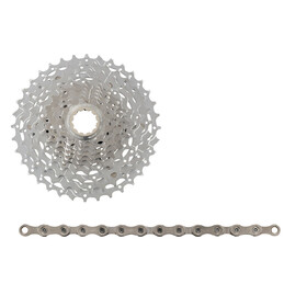 Shimano XT CS-M771 cassette 11-34 & XT CN-HG95 ketting 10-speed